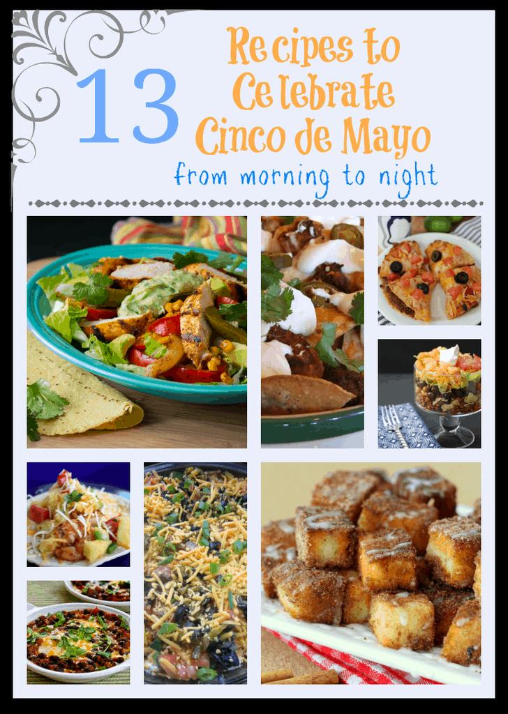 Recipes to Celebrate Cinco de Mayo!