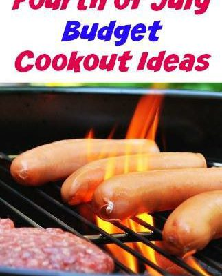 Fourth of July Budget Cookout Ideas