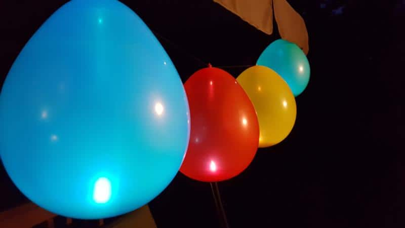 Glowing Balloon Party Decorations