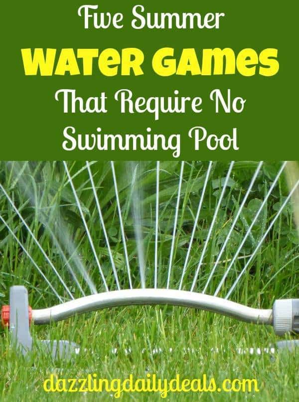 Five Summer Water Games That Require No Swimming Pool