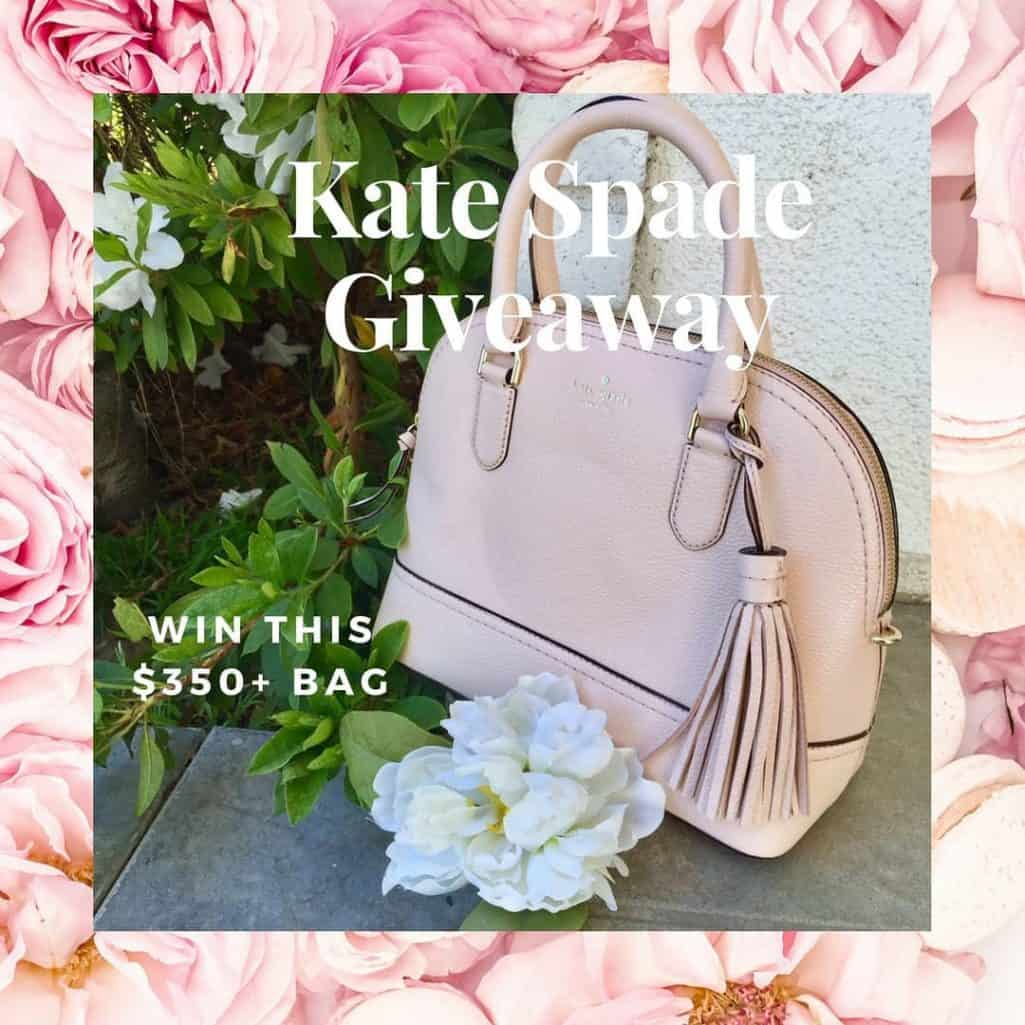 KATE SPADE HANDBAG GIVEAWAY Ive joined forces with some ofhellip