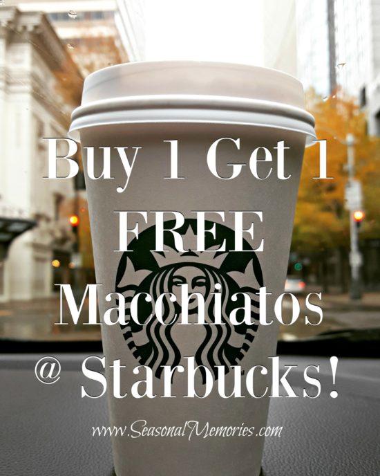 BOGO Starbucks