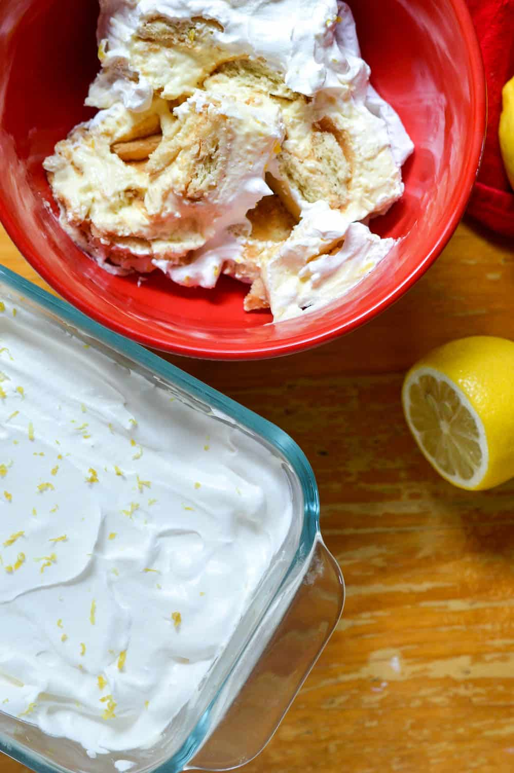 Summer Lemon Ice Box Cake