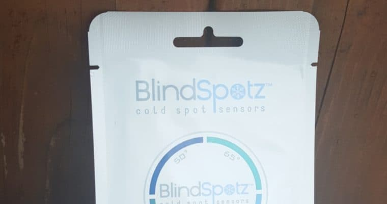 Find The Cold Spots In Your Home With BlindSpotz +GIVEAWAY