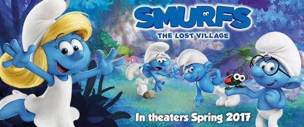Smurfs: The Lost Village Sneak Peek #SmurfsMovie