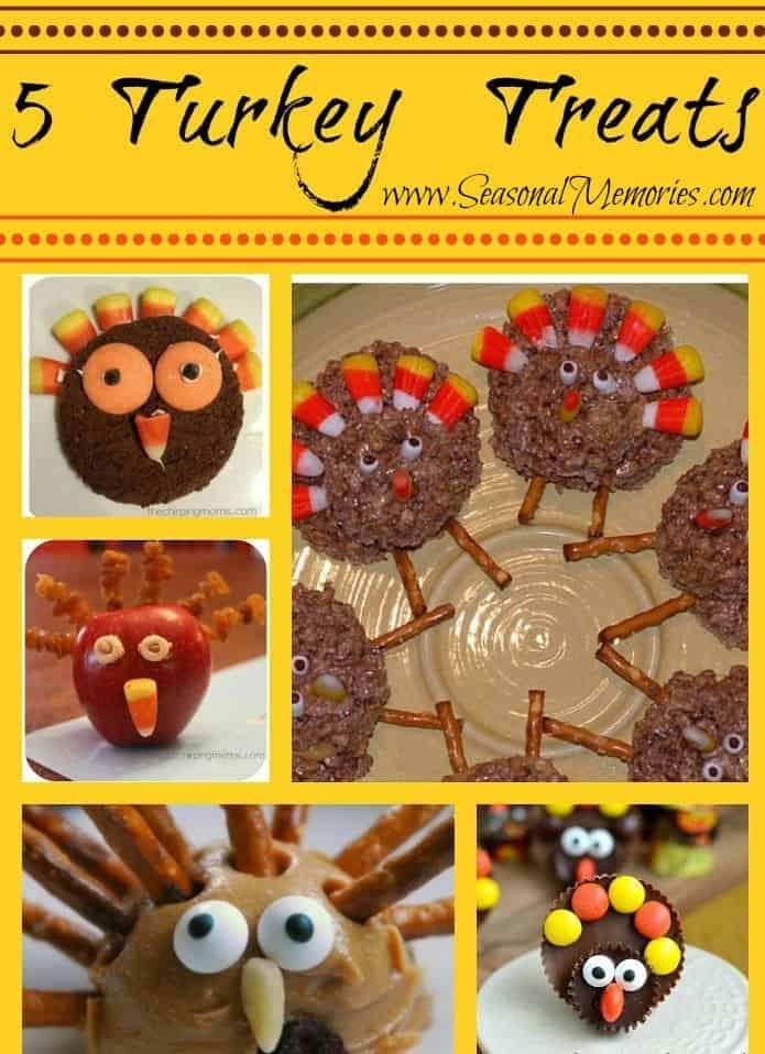 Thanksgiving Turkey Treats for the Kiddos