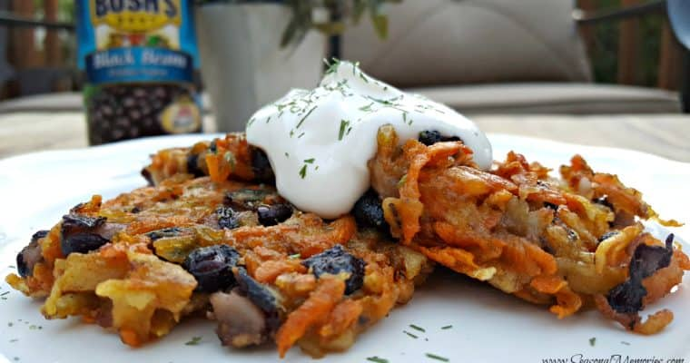 Tex-Mex Sweet Potato Pancakes