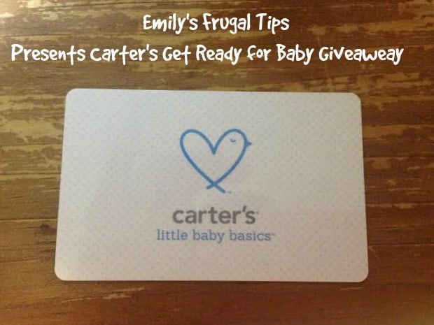 Carter's Get Ready For Baby GIVEAWAY!