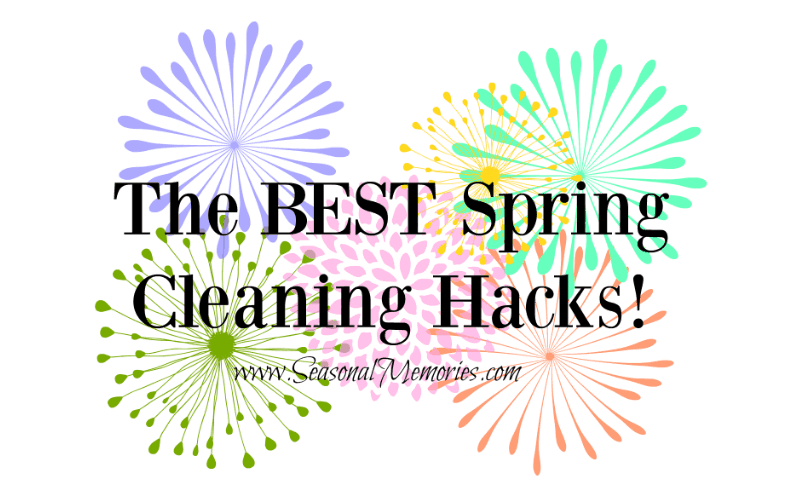 The BEST Spring Cleaning Hacks