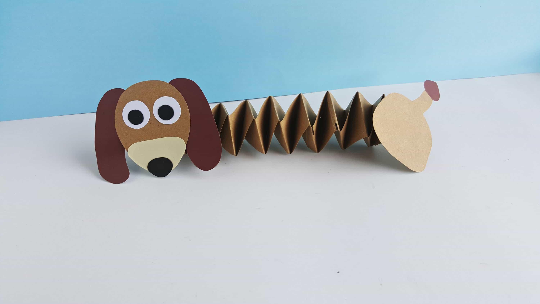 toy story craft for kids slinky dog