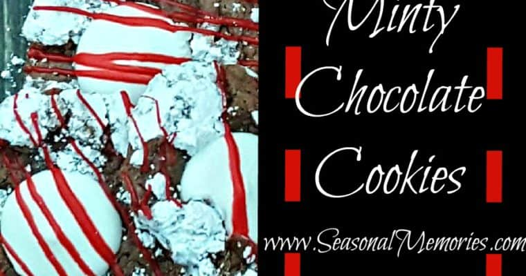 The Perfect Christmas Minty Chocolate Cookies
