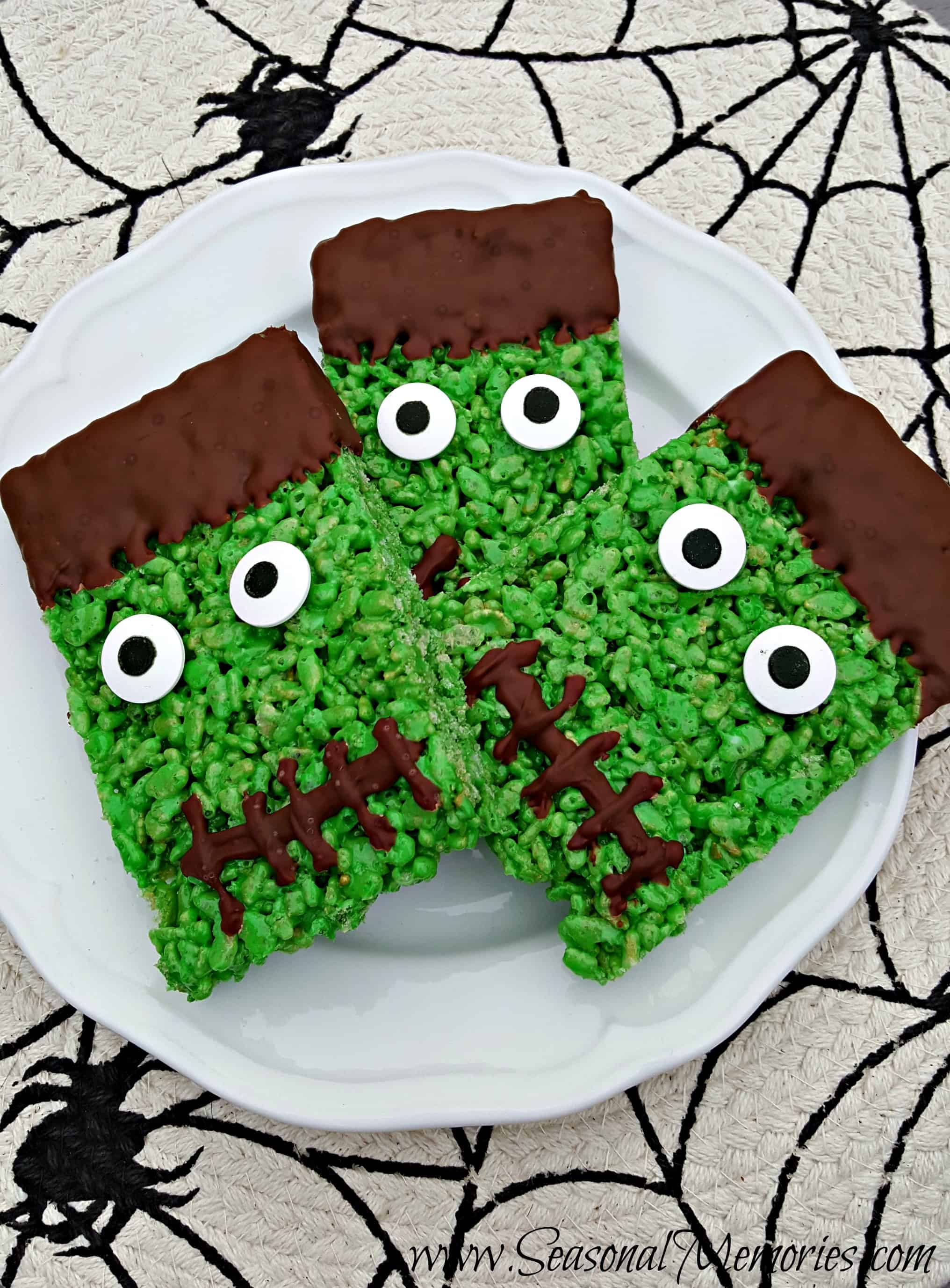Frankenstein's Krispy Treats