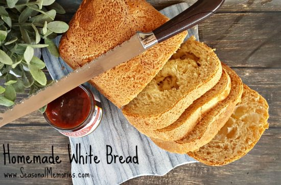 This homemade white bread is a super simple and delicious addition to any meal!